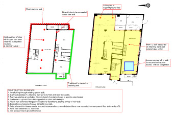 New basement feasibility report